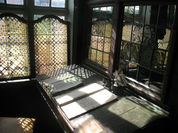 Escritorio de una casa hanseática en Bergen