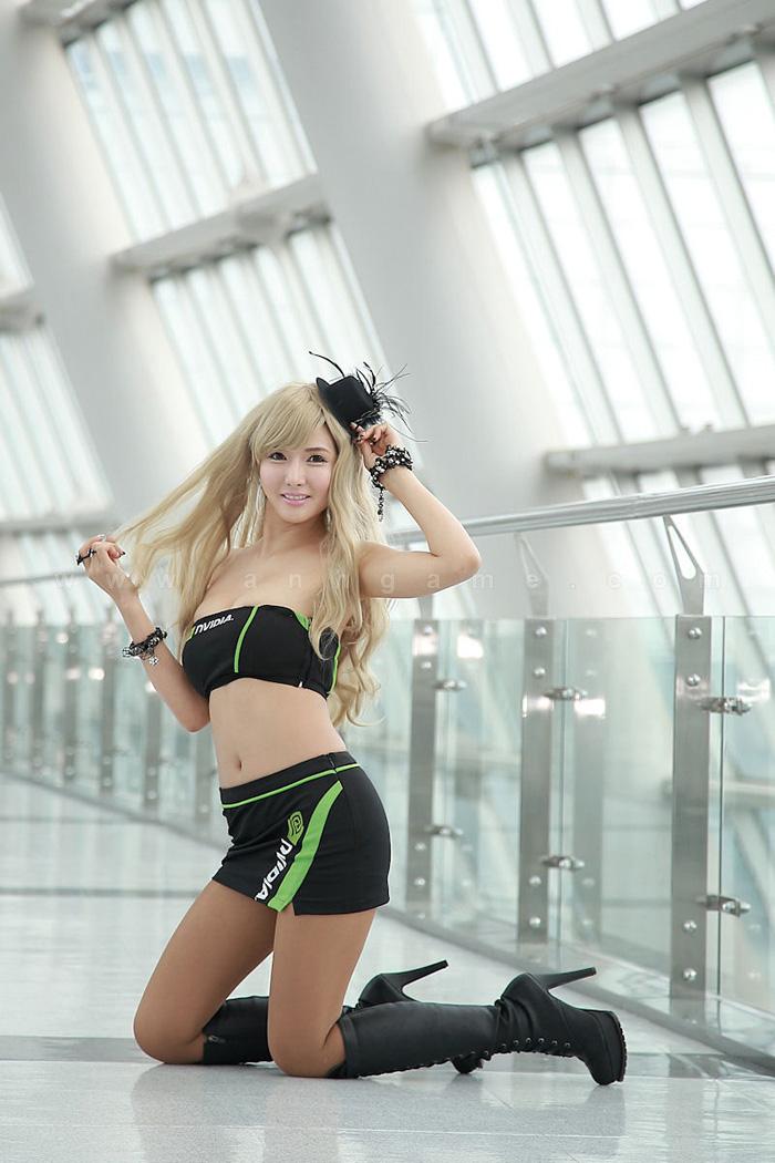 Showgirl G-star 2012: Cha Sun Hwa - Ảnh 58