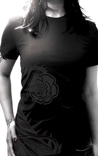 black rose tshirt
