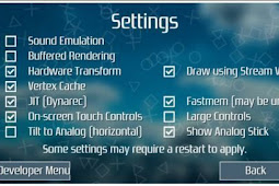 Cara Bermain Game PSP di Android aka PPSSPP for Android