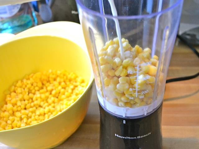 puree corn