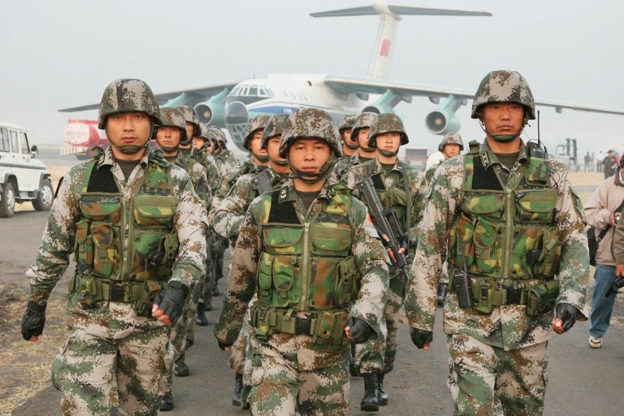 INCURSION HALO. 10-05-15. Partida Abierta. LA GRANJA. Chinese-army