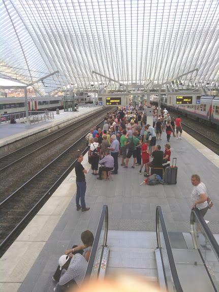 Station Liège Guillemin