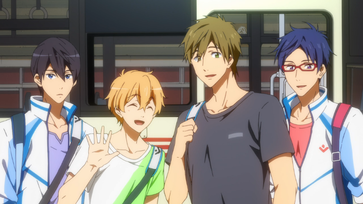 Free! Iwatobi Swim Club Episode 11 Screenshot 9
