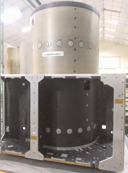 Chandrayaan-2 Orbiter Structure