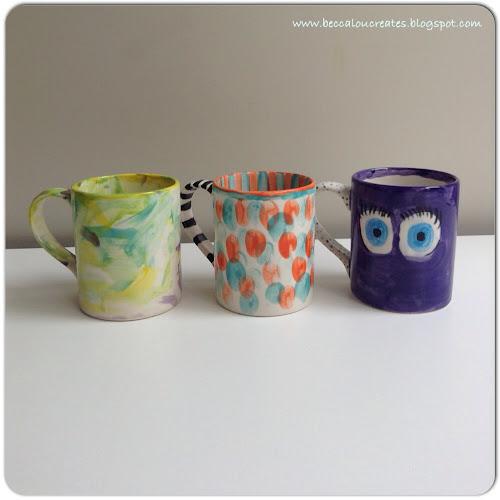 Becca lou creates ceramic painting making holiday memories for Ceramic mural making