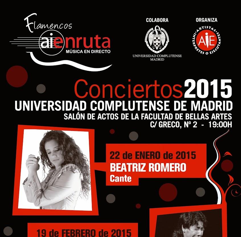 Flamencos en ruta 2015