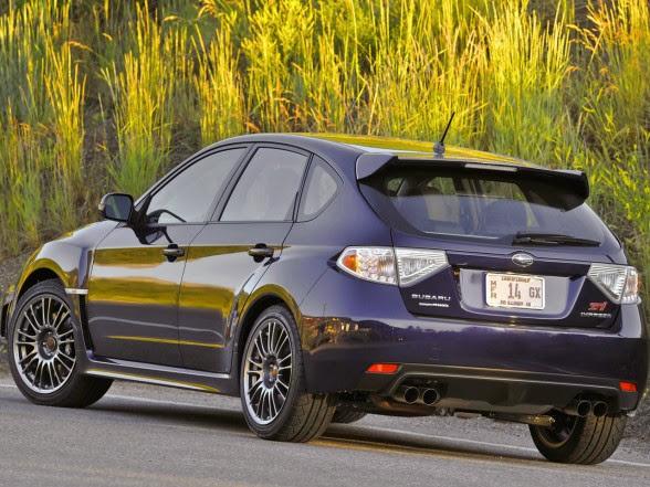 2013 Subaru Impreza WRX STI - Rear Angle