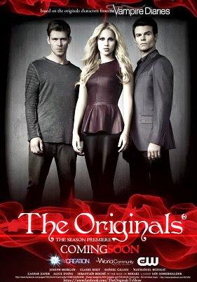 Serie Poster The Originals S01E01 HDTV XviD & RMVB Legendado