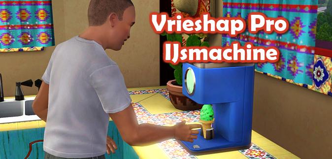 Vrieshap Pro IJsmachine