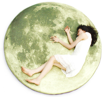 Lunar Pioneer Moon Bed