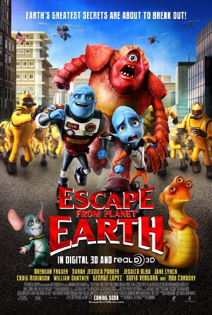 Picture Poster Wallpapers Escape from Planet Earth (2013) Full Movies