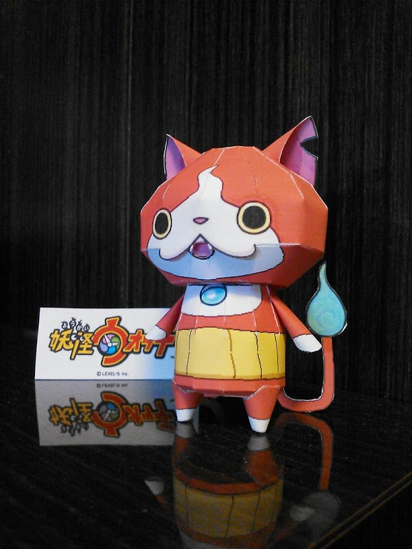 Youkai Watch Papercraft Jibanyan