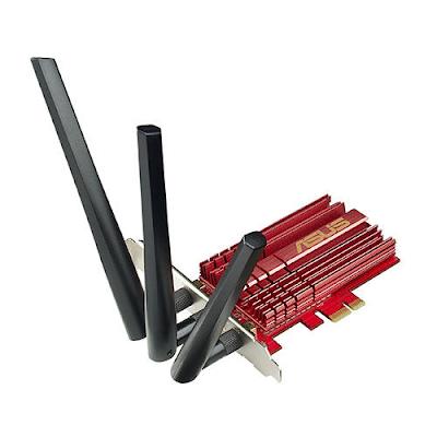 Tarjeta de red ASUS Wi-Fi