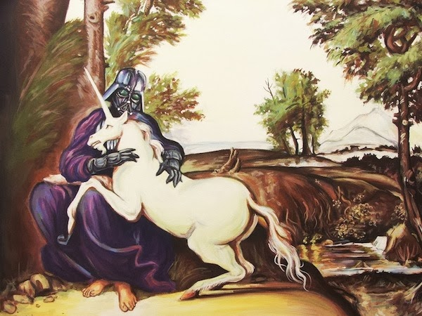 Hillary White - Vader with Unicorn