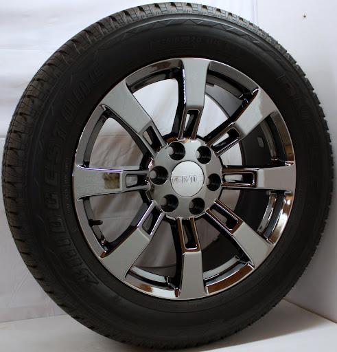 20 Gmc Truck Chrome Rims Tires Yukon Denali Sierra Items ...