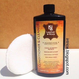 Leather Nova 2-in-1 Leather Cleaner and Conditioner - photo credit: intrice.blogspot.com
