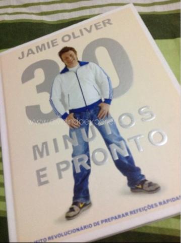 Livro Jamie Oliver 30 minutos e pronto