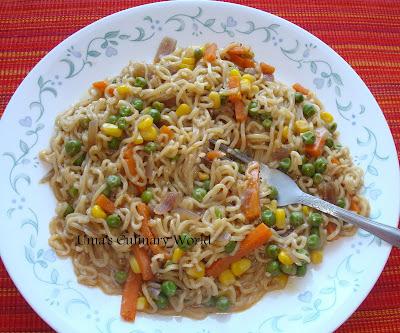 instant noodles with biryani masala