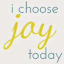 grab a button for i choose joy today