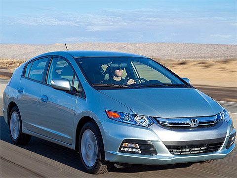 Motor Trend: 2012 HONDA Insight