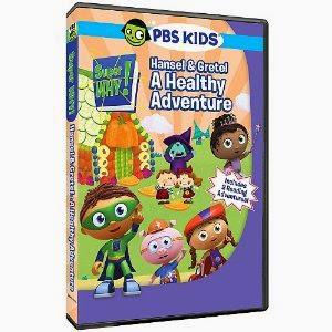PBS KIDS Super Why! Hansel & Gretel: A Healthy Adventure