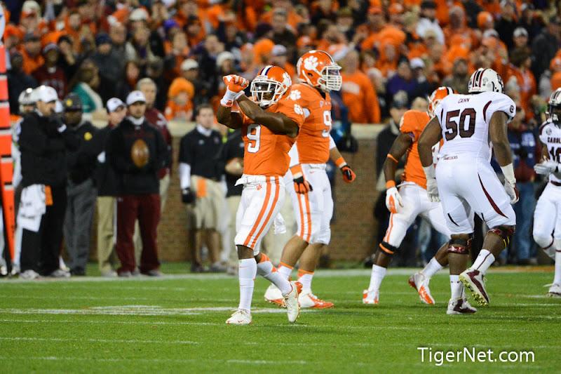 Clemson vs. South Carolina Photos - 2012, Football, South Carolina, Xavier Brewer