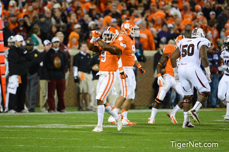 Clemson vs. South Carolina Photos - 2012, Football, South Carolina, Xavier Brewer