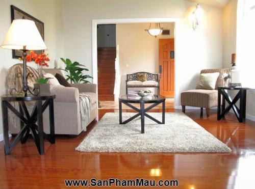 Bí quyết trang trí phòng khách dài và hẹp - Tủ âm tường-4