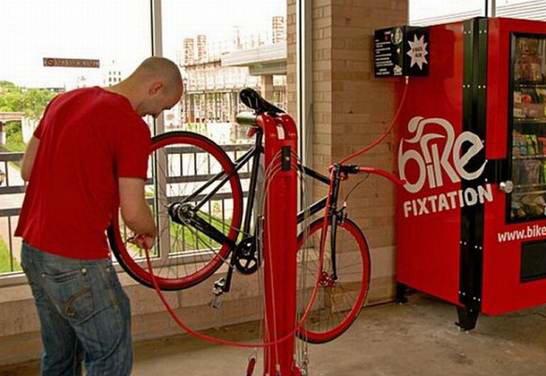 Как ремонтируют велосипеды за границей