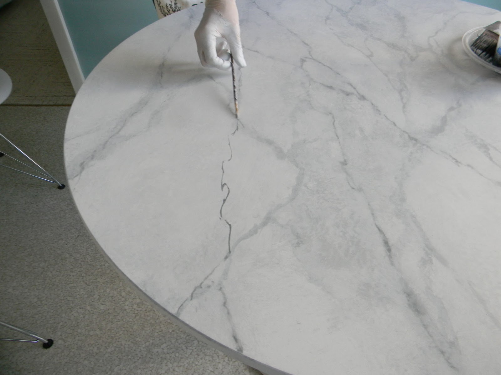 blog marble bar diy mr kitchen industrial jones carrara island seattle faux me loft cart countertop in less for and countertops