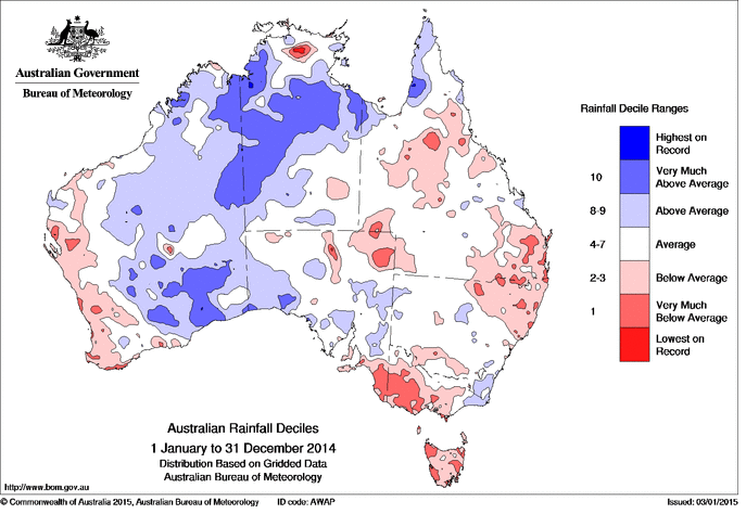 Australian Rainfall Anomalies CRIKEY - Average annual snowfall map us