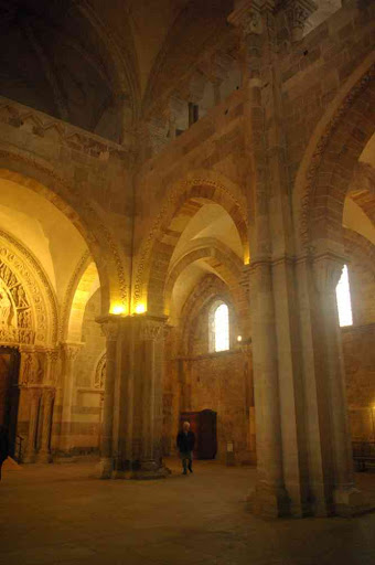 Vézelay (basilique Sainte-Marie-Madeleine) (le narthex)
