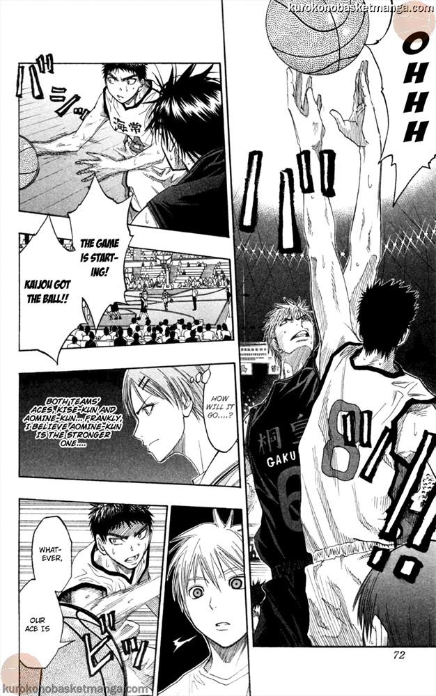 Kuroko no Basket Manga Chapter 64 - Image 6