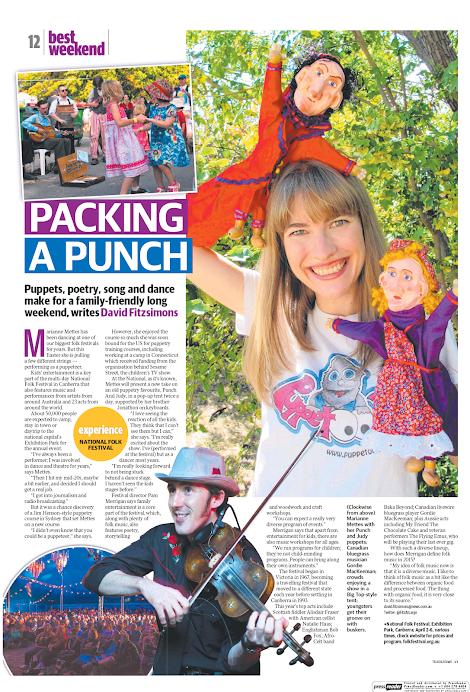 Daily Telegraph - Best Weekend, Mar 21 2015. Page12