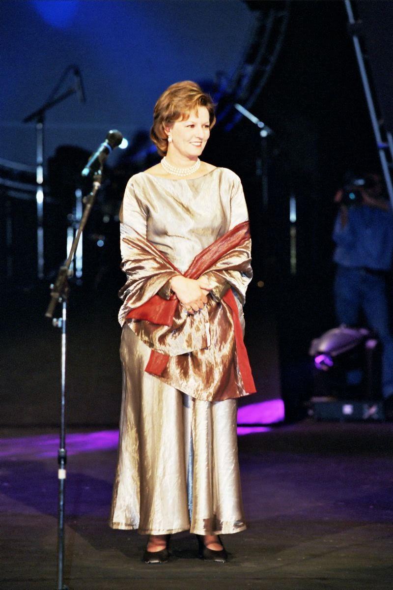 Principesa Margareta a României la Gala Uniter 2001