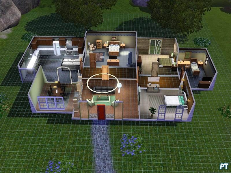 Gids hoe maak ik een appartement in de sims 3 for Appartement design sims 3