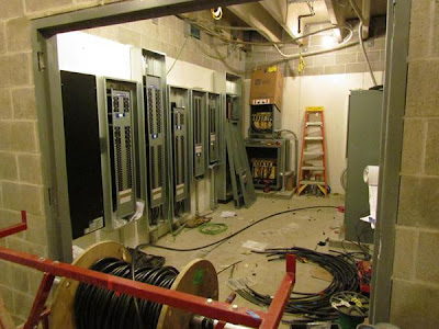 Main electrical room