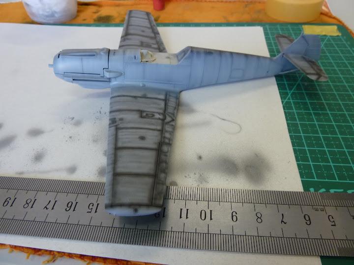 Bf-109 E-3 Tamiya 1/48 - Reforma pintura P1020462