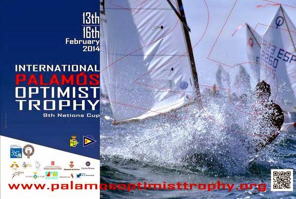 Voile Optimist Compétition Palamos Espagne 2014