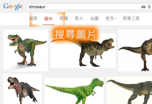 到 Google 搜尋圖片