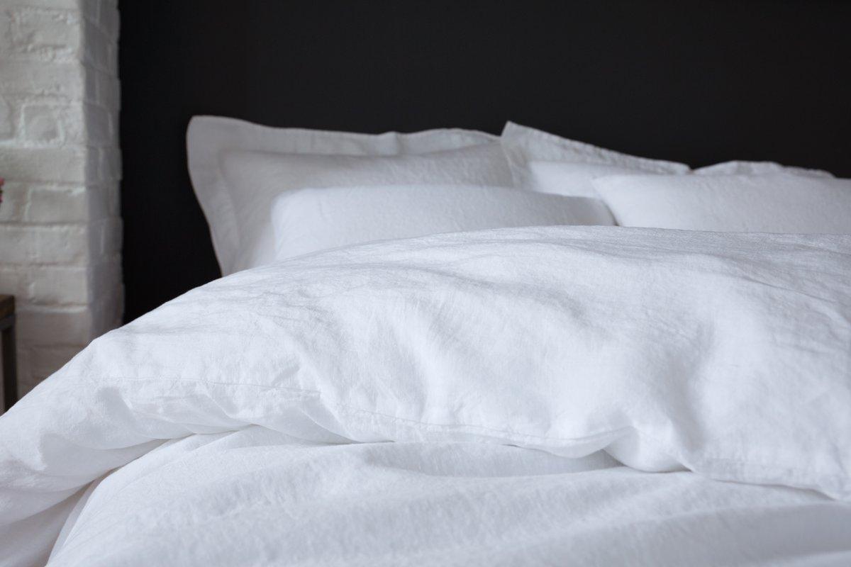 Luxury Linen Bedding Bundle   Tom and Dick's