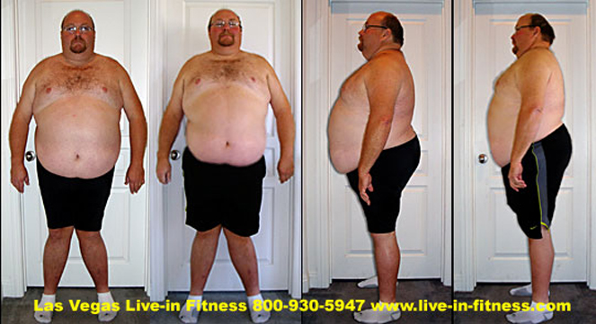 Weight Loss Camp for Men, Las Vegas Live-in Fitness...Boston Man