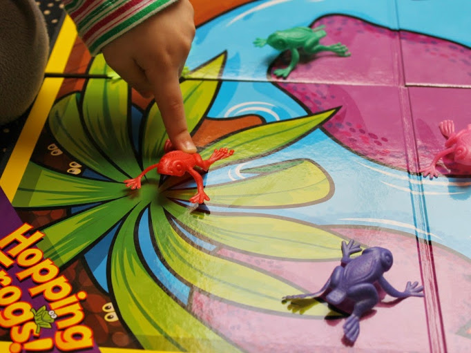 Hopping Frogs Game from Super Duper Publications