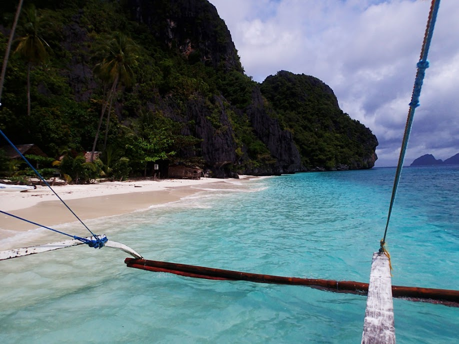 Entatula Island Beach Club, Palawan, Philippines.