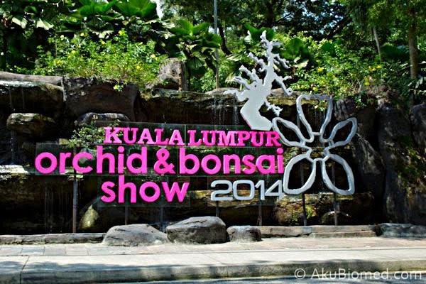 Pameran Kuala Lumpur Orkid & Bonsai 2014