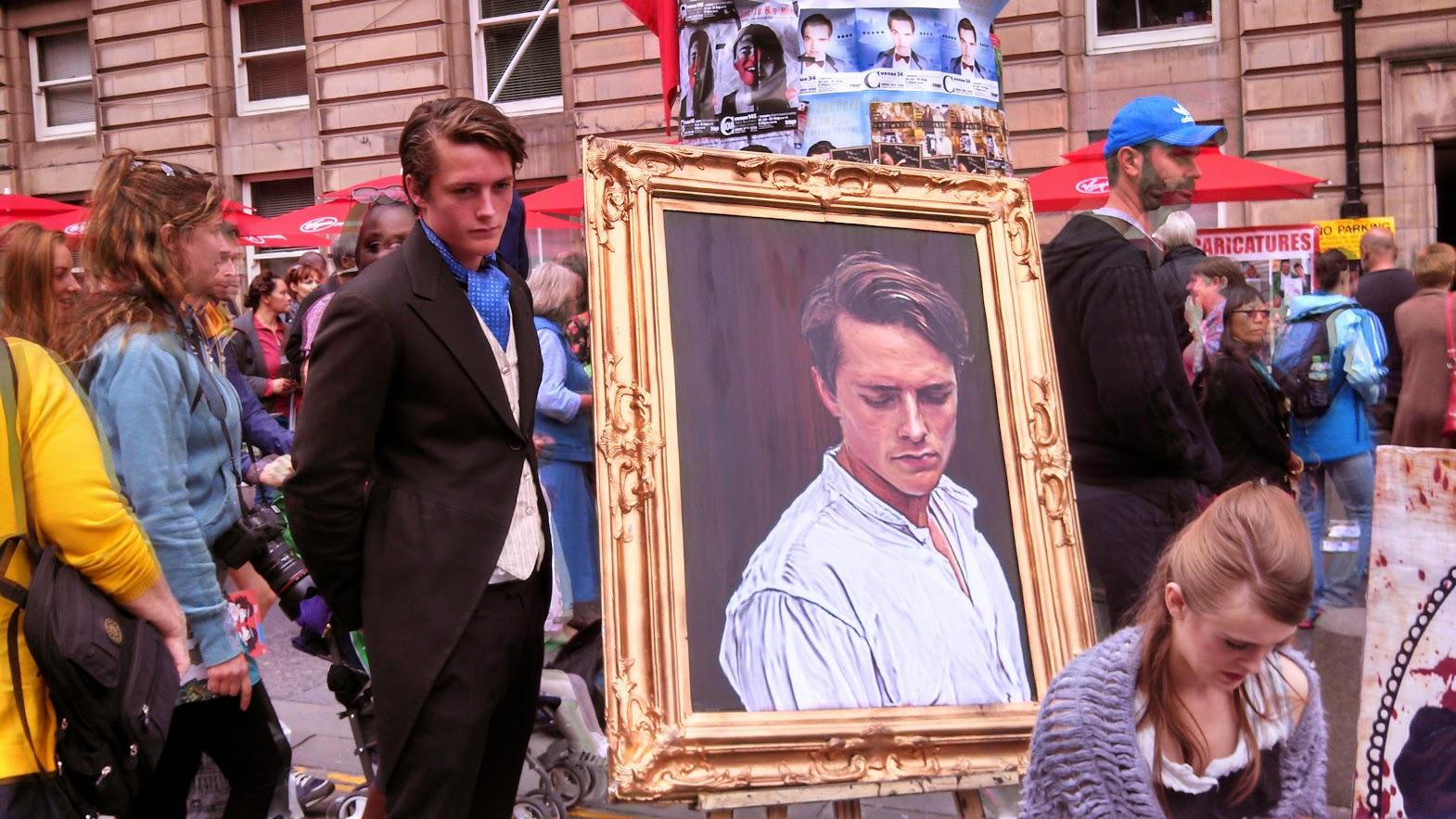 Still Dorian-Actor with Dorian-Picture
