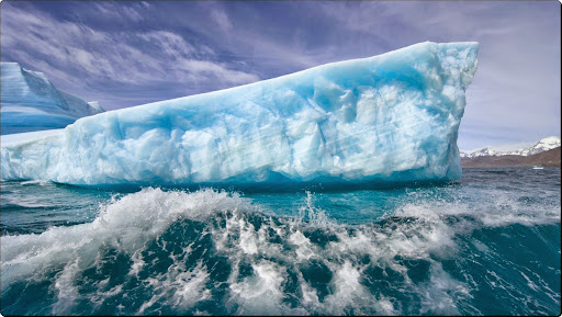 Massive Iceberg Melting Rapidly Due to Rising Temperatures, Near Cumberland Bay, South Georgia Islan.jpg