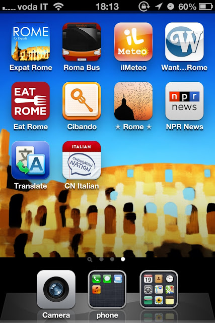 Apps for a trip to Rome
