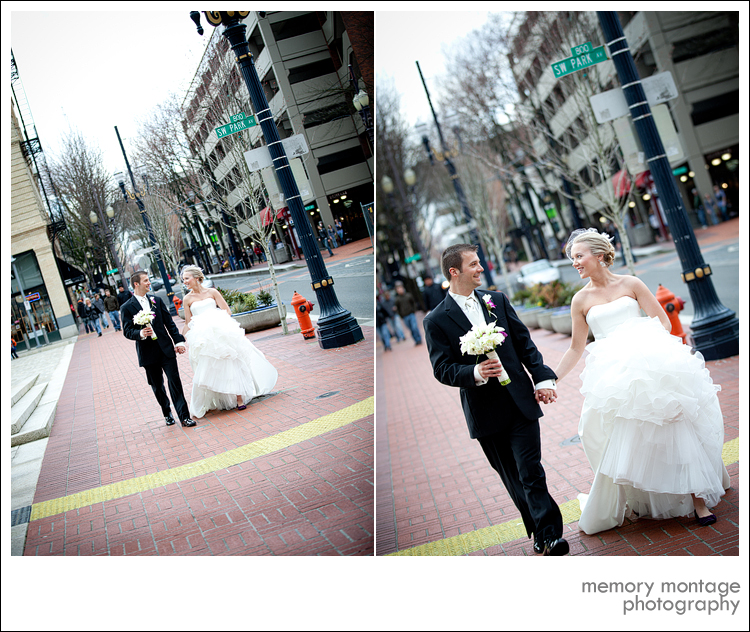 portland OR wedding photograph